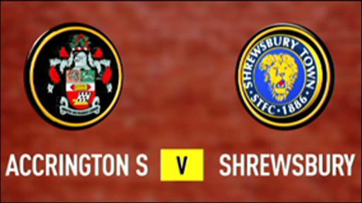Accrington Stanley v Shrewsbury