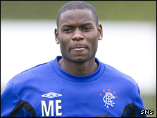 Rangers midfielder Maurice Edu