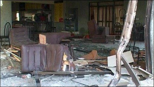 Blast at International Islamic University.