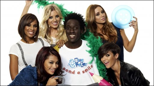 The Saturdays and BP's Andy