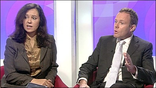 Caroline Flint and Nick Herbert