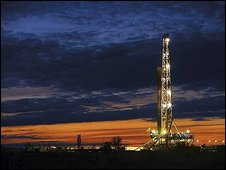 Chesapeake shale gas drilling rig (Statoil image)