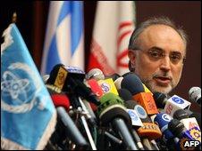 Iranian nuclear negotiator Ali Akbar Salehi