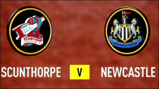 Scunthorpe v Newcastle