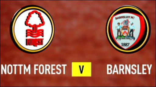 Nottingham Foret v Barnsley