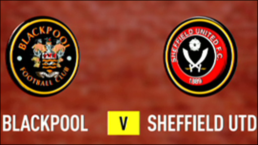 Blackpool v Sheffield United