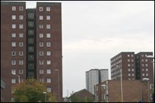 Tower blocks in Barking