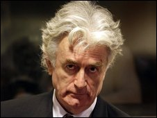 Radovan Karadzic at the UN International Criminal Tribunal for the former Yugoslavia (ICTY) in The Hague, file pic from August 2009