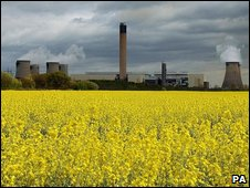 Drax coal fired power station