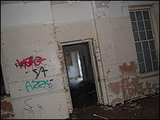 Graffiti on walls