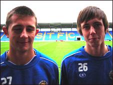 Waide Fairhurst and Jamie Devitt