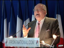 Jean-Marie Le Pen (file image)