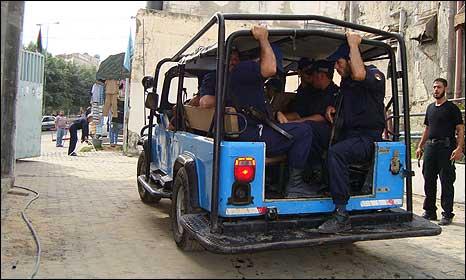 Gaza's Hamas-run police