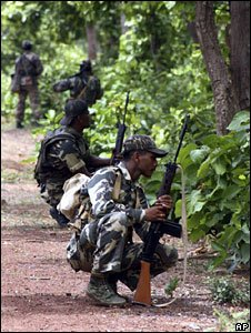 Troops haunting for Maoist rebels