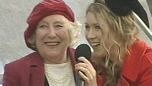 Dame Vera Lynn and Hayley Hayley Westenra