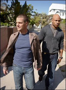 Chris O'Donnell and LL Cool J in NCIS: Los Angeles