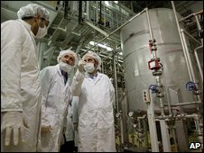 Isfahan uranium conversion facility, Iran (file image)