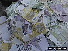 Euro banknotes (file image)
