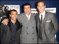Ashley Cole, Tamer Hassan, Rio Ferdinand