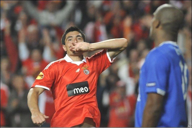 Paraguayan Oscar Cardozo