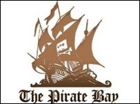 Pirate bay logo, The Pirate Bay
