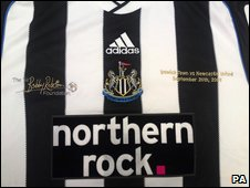 Commemorative Sir Bobby Robson shirts