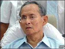 Thai King Bhumipol - 23 October 2009