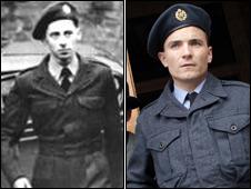 (L-R) Iain Hay Gordon and Martin McCann in the role of Iain Hay Gordon