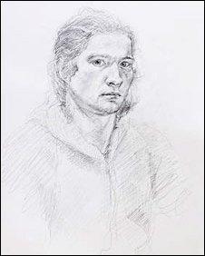 Self Portrait by Dafydd Hedd ap Hywel