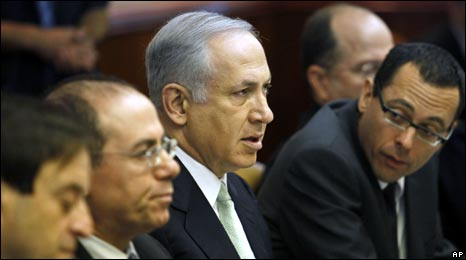 PM Netanyu with Cabinet members