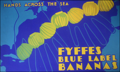 Gladys Williamson poster for bananas