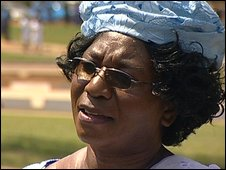 Nurses' union leader Dorothy Ngoma