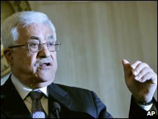Palestinian leader Mahmoud Abbas. Photo: October 2009