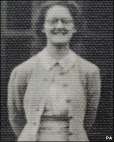 Mair Eluned Russell-Jones in her early 20s