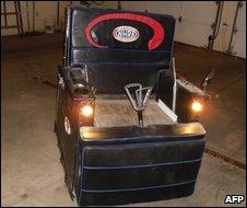 Motorised lounge chair