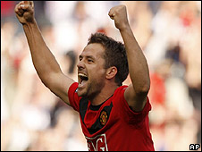 Man Utd striker Michael Owen