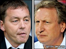 Billy Davies and Neil Warnock