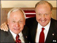 George Gillett (left) and Tom Hicks