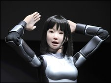 "A humanoid robot, HRP-4C, developed by Japan""s Advanced Industrial Science and Technology"