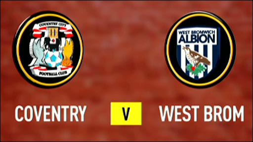 Coventry 0-0 West Brom