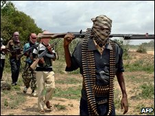 Islamist militants in Somalia