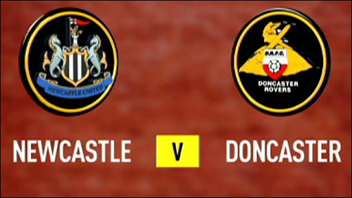 Newcastle v Doncaster