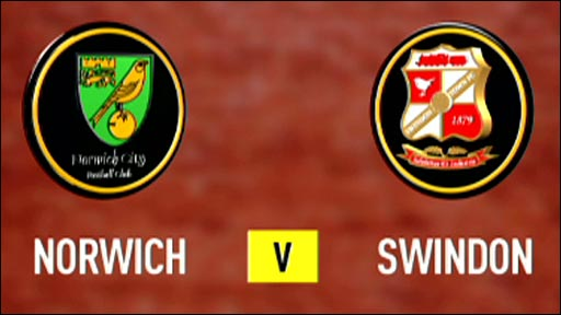Norwich v Swindon
