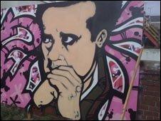Dylan Thomas mural