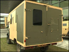 Army vehicle (BBC)