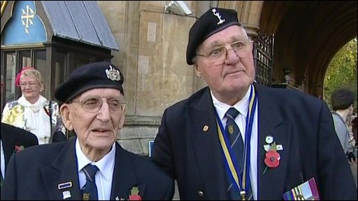 More than 1,000 members of the Normandy Veterans' Association remembered the landings which launched the beginning of the end of World War II.