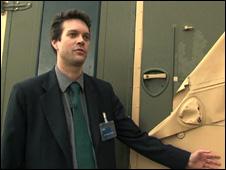 Dr Steven Mitchell (BBC)