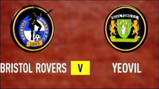 Bristol Rovers v Yeovil