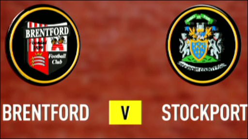 Brentford v Stockport