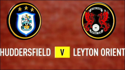 Huddersfield v Leyton Orient